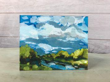 Quick Acrylic Landscape SWC