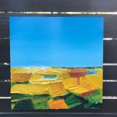 """I am canola - Acrylic on Panel 20"""" x 20"""" SOLD"""