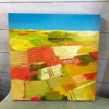 "Soft Light - Acrylic on Birch Panel 20"" x 20"" 750.00"